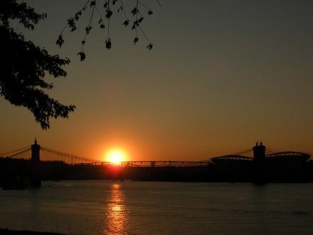 In Cincy geht die Sonne unter