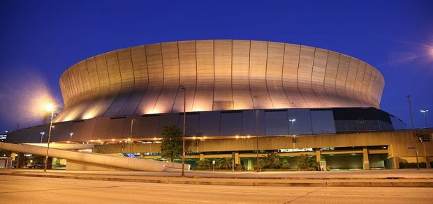 Louisiana Superdome in New Orleans