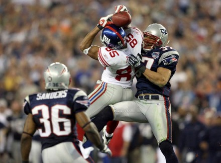 Super Bowl XLII - Manning to Tyree
