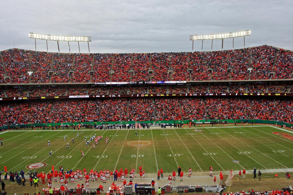 Arrowhead Stadium Kansas City Chiefs NFL Sideline Reporter