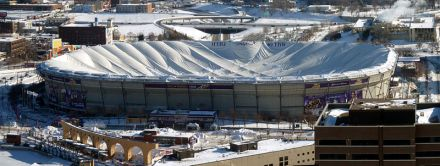 Minneapolis Metrodome kollidiert
