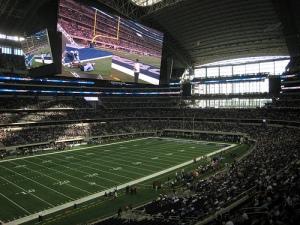 Cowboys Stadium innen