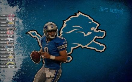 Matthew Stafford Detroit Lions NFL 2011/12