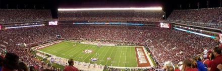 Bryant-Denny Stadium von Tuscaloosa - ©Latics/Wikipedia