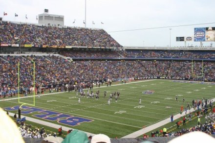 Ralph Wilson Stadium in Orchand Park