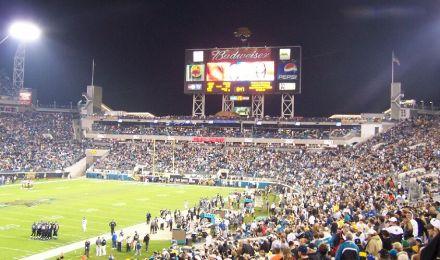 Footballstadion zu Jacksonville