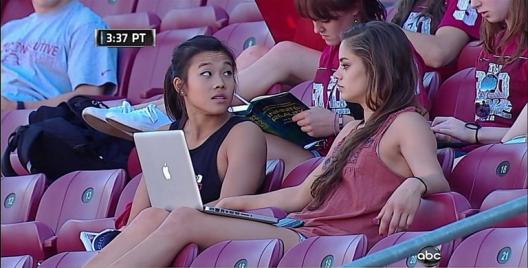 Footballbegeisterung: Stanfords Studentinnen