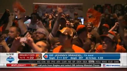 Johnny Manziel für Cleveland