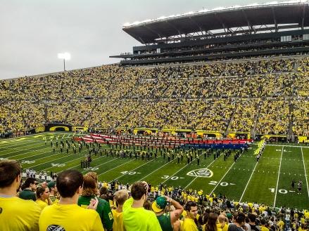Heimspiel in Oregon - Bild: Max Länge