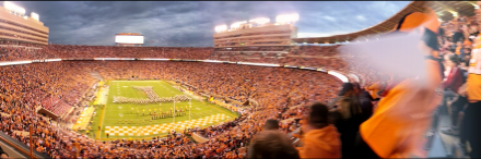 Neyland Stadium der University of Tennessee