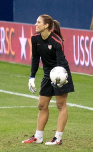 Hope Solo - Bild: Wikipedia