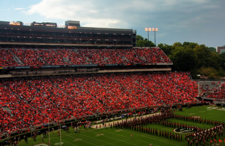 Sanford Stadium von Georgia