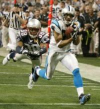Einer meiner absoluten Momente: Steve Smith gegen Tyrone Poole, Superbowl 2004