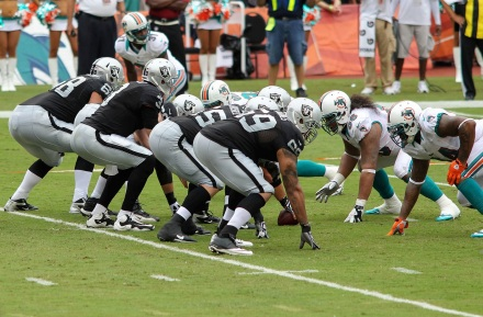 Raiders vs. Dolphins NFL